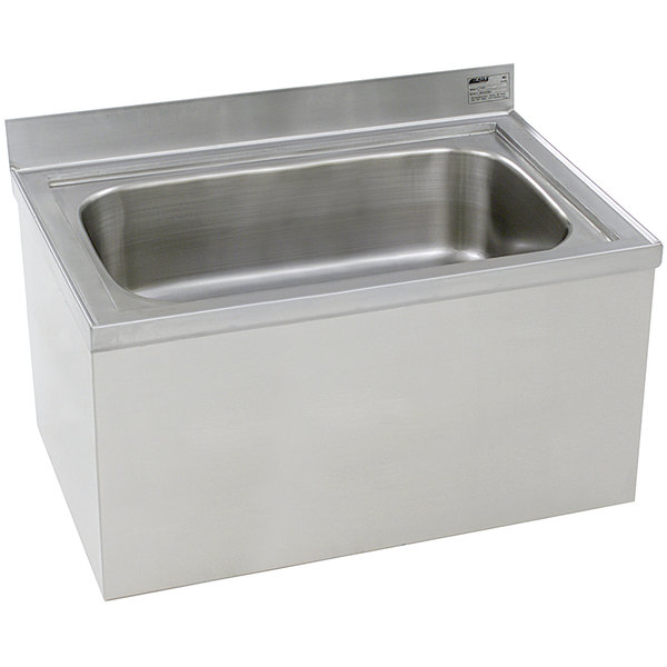 """Eagle Group F2820-12 28"""" x 20"""" x 12"""" Floor Mounted Mop Sink"""