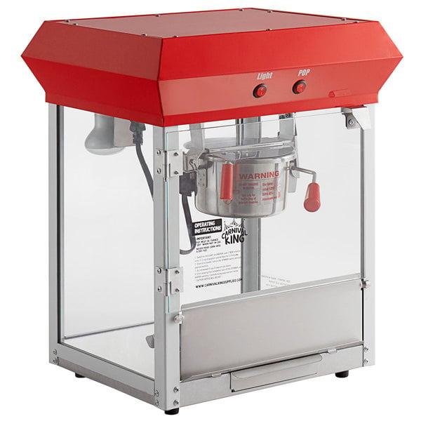 Paragon 1104220 Contempo Pop 4 Oz Popcorn Machine