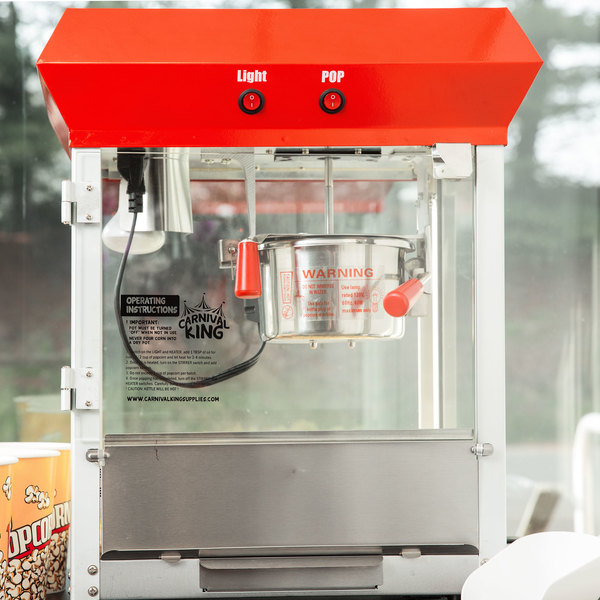 Carnival King PM470 4 oz. Popcorn Machine / Popper - 120V, 470W