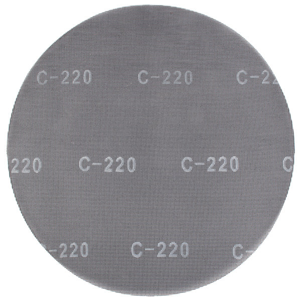 "Scrubble by ACS 32043 17"" Sand Screen Disc with 220 Grit - 10/Case"