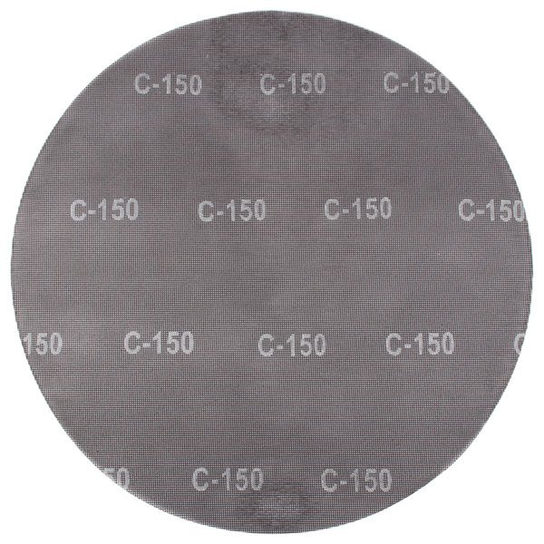 """Scrubble by ACS 32199 20"""" Sand Screen Disc with 150 Grit - 10/Case"""
