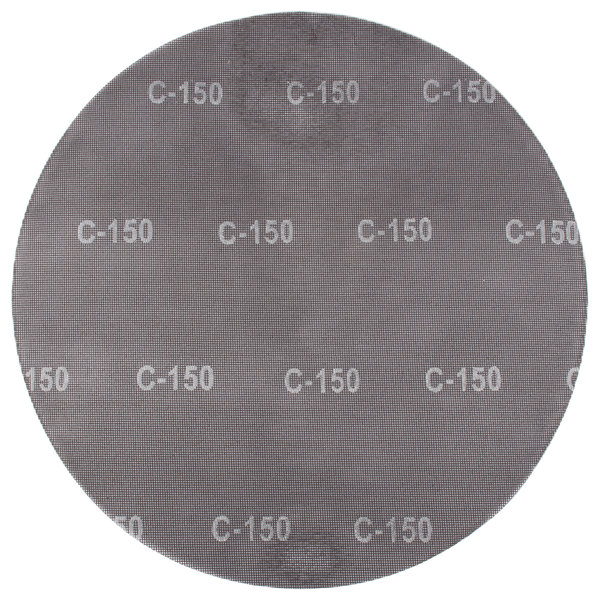 "Scrubble by ACS 32199 20"" Sand Screen Disc with 150 Grit - 10/Case Main Image 1"