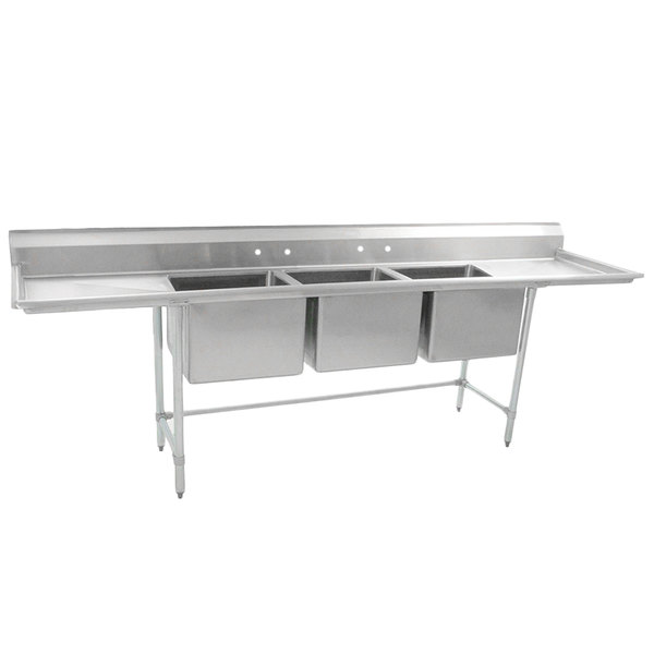 Eagle Group S16 28 3 18 Three 28 Quot X 20 Quot Bowl Stainless