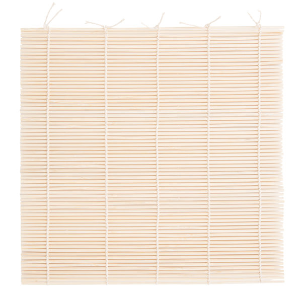Natural Bamboo Sushi Mat Sushi Roller 9.5 inch Square S-3155
