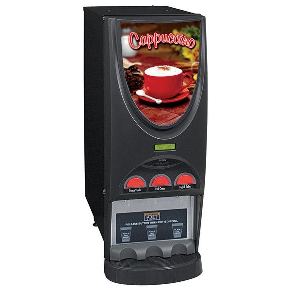 Bunn 36900.0000 iMIX-3 Cappuccino / Espresso Machine Hot Beverage Dispenser with 3 Hoppers - 120V
