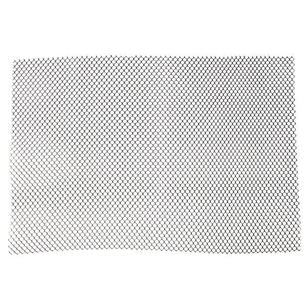 2' Black Plastic Mesh Bar Mat / Shelf Liner