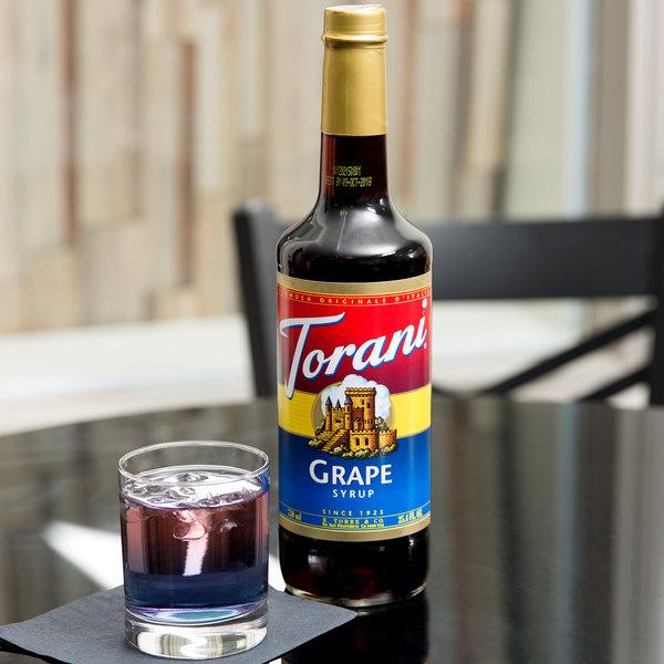 Torani 750 mL Grape Flavoring / Fruit Syrup