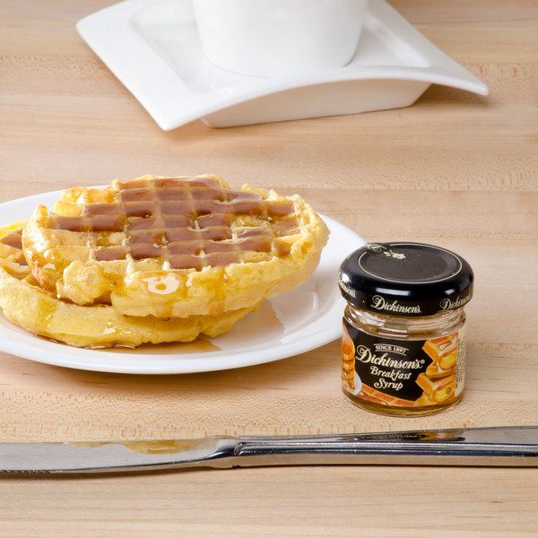 Dickinson's 1 oz. Breakfast Syrup - 72/Case Main Image 3