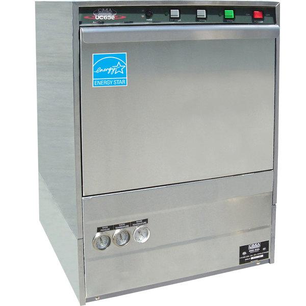 CMA Dishmachines UC65E High Temperature Undercounter Dishwasher - 208/230V