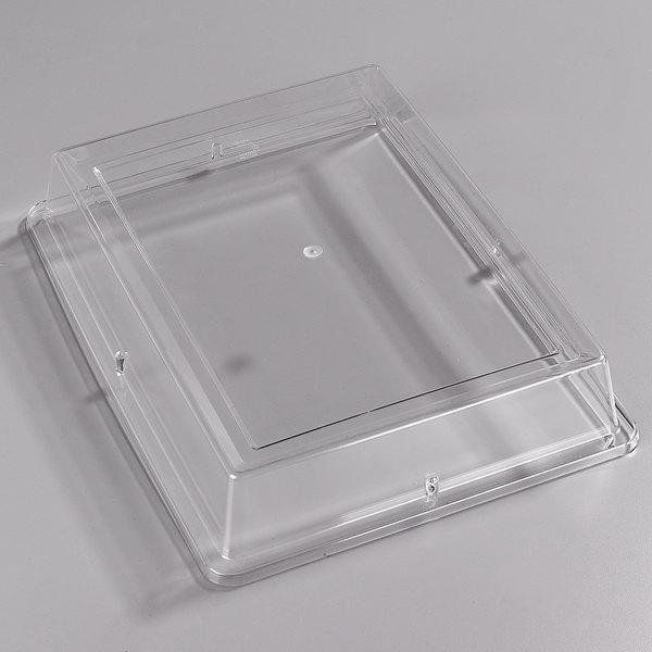 "Carlisle 44416C07 Palette Designer Displayware Cover for 17"" x 13"" Wide Rim Rectangle Platter - 12/Case"