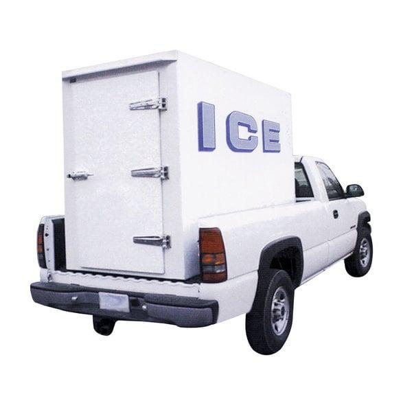 Polar Temp 4X8AD Auto Defrost Refrigerated Ice Transport - 140 cu. ft. Main Image 1
