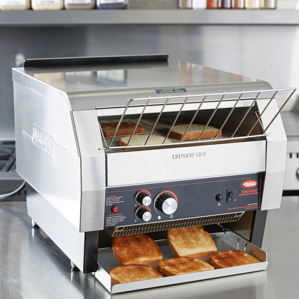"Hatco TQ-1800H Toast Qwik Conveyor Toaster - 3"" Opening, 240V"