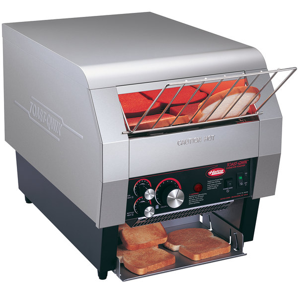 "Hatco TQ-400H Toast Qwik Conveyor Toaster - 3"" Opening, 208V"