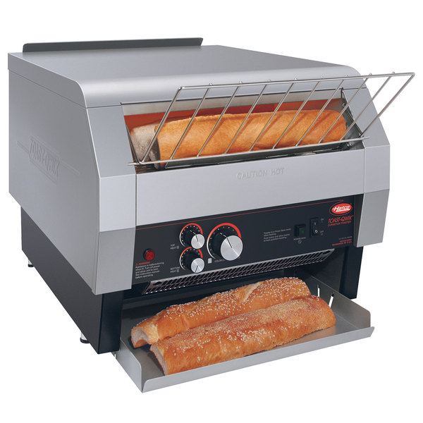 "Hatco TQ-1800BA Toast Qwik One Side Conveyor Toaster - 2"" Opening, 240V"