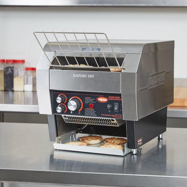 "Hatco TQ-400 Toast Qwik Conveyor Toaster - 2"" Opening, 240V"