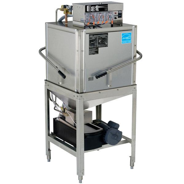 CMA Dishmachines EST-C Door Type, Single Rack, Low Temperature Corner Dishwasher - 115V