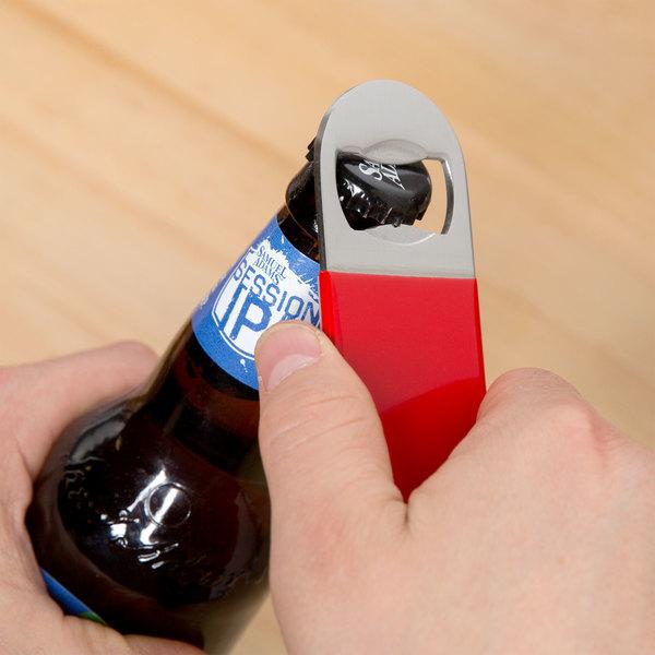 Red Flat Bottle Opener