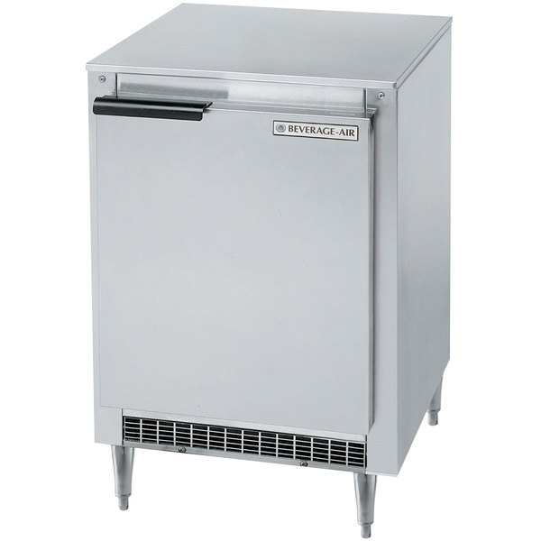 "Beverage Air UCF20 20"" Low Profile Undercounter Freezer - 2.7 Cu. Ft."