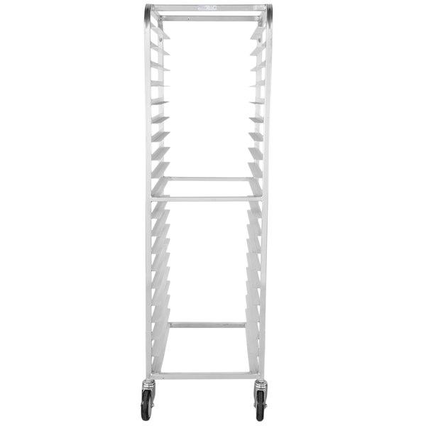 Winholt AL-1820B 20 Pan End Load Medium-Duty Aluminum Bun / Sheet Pan Rack - Assembled