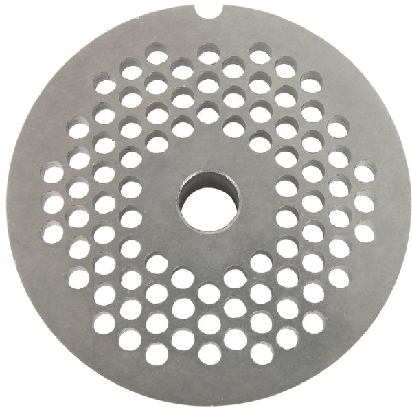 "Globe CP04-12 5/32"" Chopper Plate for #12 Meat Grinder Assemblies"