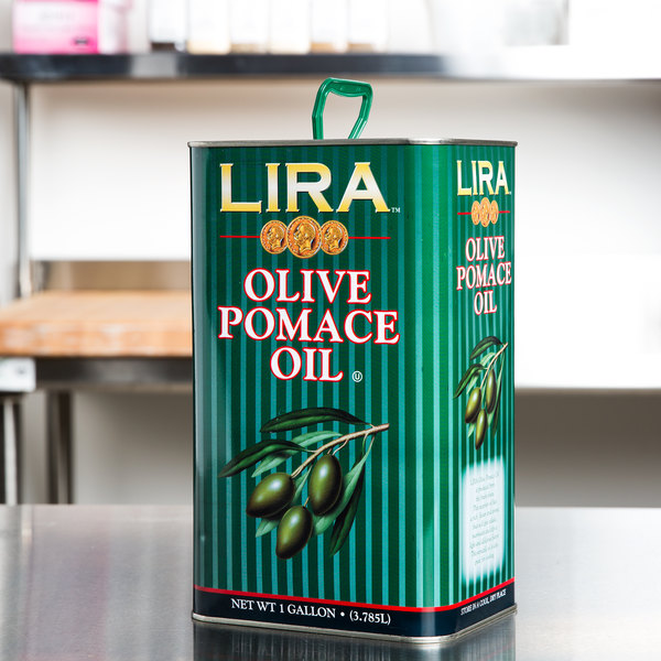 Olive Pomace Oil - 1 Gallon Tin