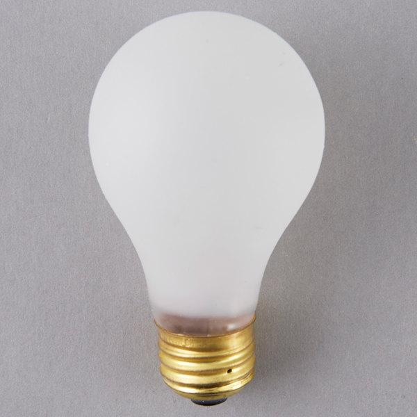 "All Points 38-1483 Equivalent 4"" x 2 3/8"" Shatterproof Light Bulb - 120V, 60W"