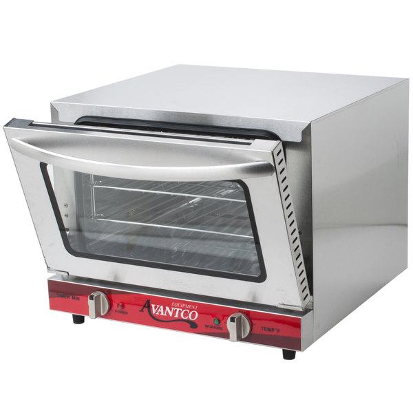 Avantco co 14 quarter size countertop convection oven 0 8 - Cool touch exterior convection toaster oven ...