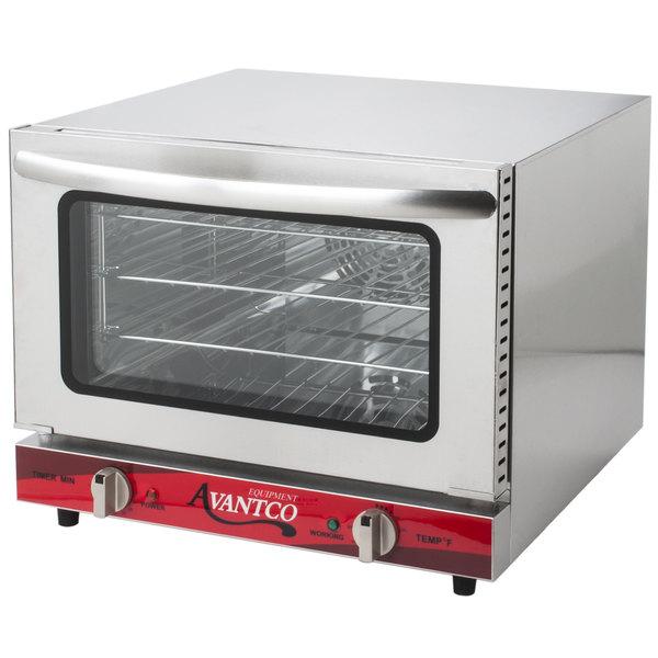 Ft Avantco Co 14 Quarter Size Countertop Convection Oven 0 8 Cu
