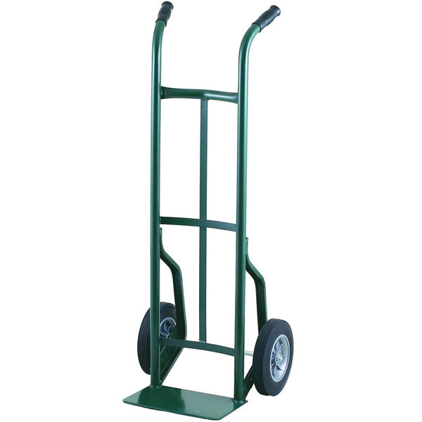 """Harper 50T60 Dual Handle 600 lb. Steel Hand Truck with 10"""" x 2 1/2"""" Solid Rubber Wheels"""