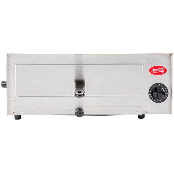 Avantco CPO-12 Stainless Steel Countertop Pizza/Snack Oven - 120V, 1450W