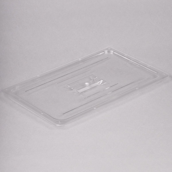 Full Size Clear Polycarbonate Food Pan Lid with Handle