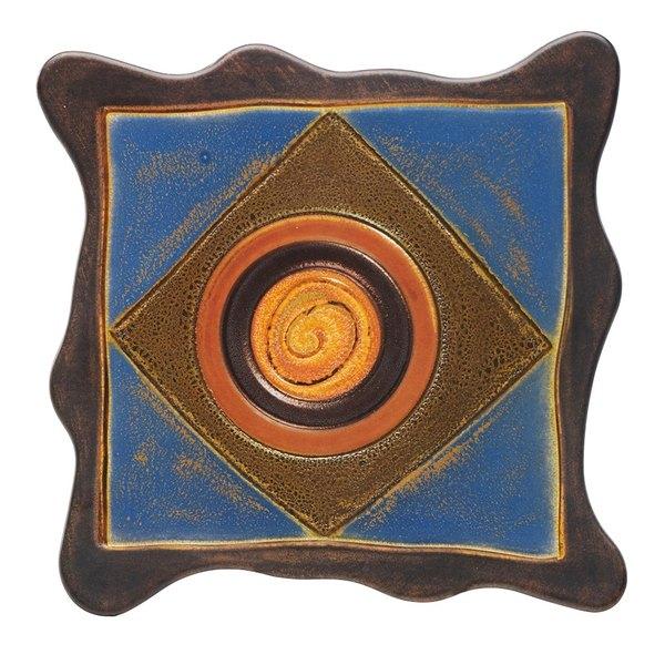 """Elite Global Solutions V10511 Artist 11"""" Square Melamine Platter"""