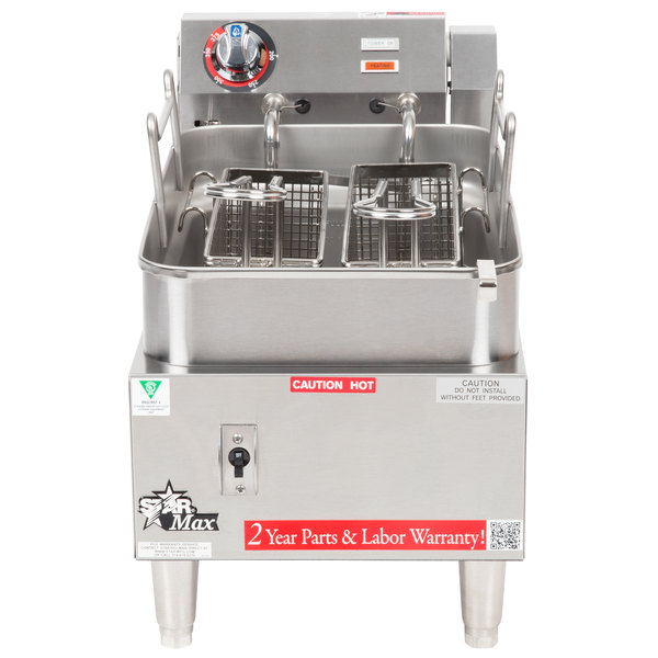 Star Max 515F 15 lb. Commercial Countertop Deep Fryer 5750W
