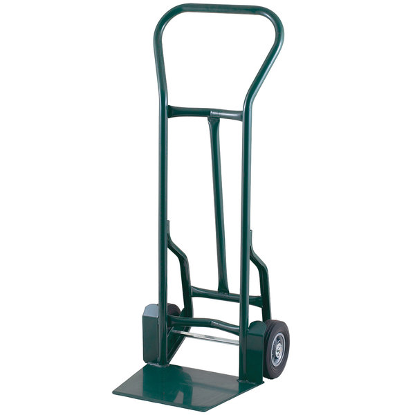 """Harper 32T57 51"""" Tall Taper Noz 900 lb. Hand Truck with 8"""" x 2 1/4"""" Solid Rubber Wheels"""