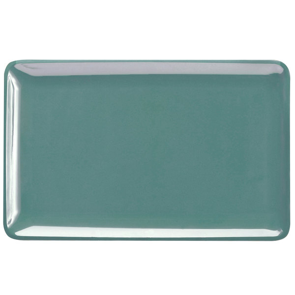 """Elite Global Solutions M2011RC Belize Abyss 20"""" x 11"""" Rectangular Melamine Tray"""