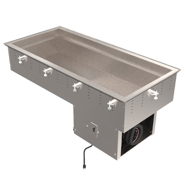 Vollrath 36434 Four Pan Modular Drop In Refrigerated Cold Food Well