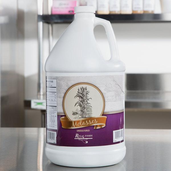 Regal Foods Sulfur-Free Molasses 1 Gallon Bulk Container