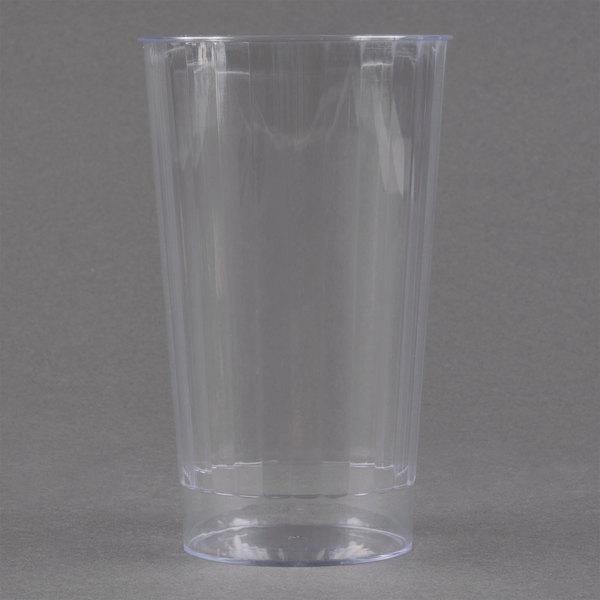 Fineline Renaissance 2416-CL 16 oz. Clear Hard Plastic Crystal Tumbler - 20/Pack