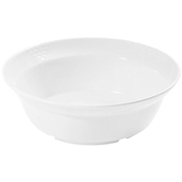 GET BB-186-10-WH 10 Qt. White Sonoma Melamine Bowl - 6/Case