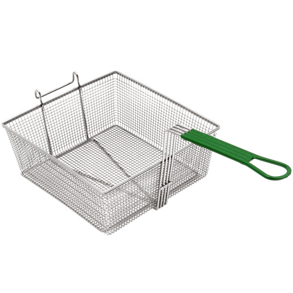 "Frymaster 8030015 11 1/2"" x 14"" x 4 1/2"" Full Size Fryer Basket"