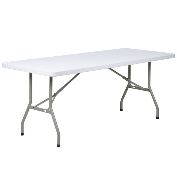 white folding table and chairs fold up ikea bistro choose flash furniture granite plastic dinner party catered event