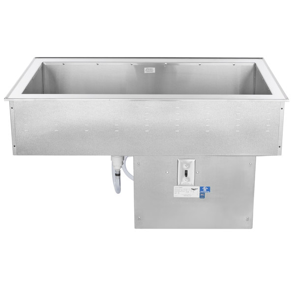 Vollrath 36442 Three Pan Standard Drop In Refrigerated Cold Food Well