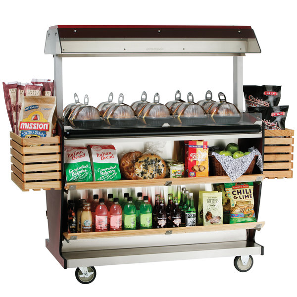 Alto-Shaam ITM2-48/DLX Deluxe Island Hot Food Takeout Merchandiser - 48""