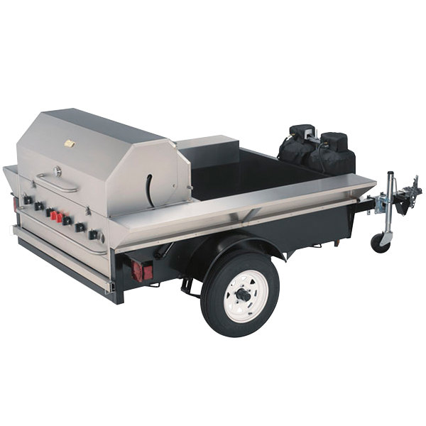 """Crown Verity TG-2 69"""" Tailgate Grill"""
