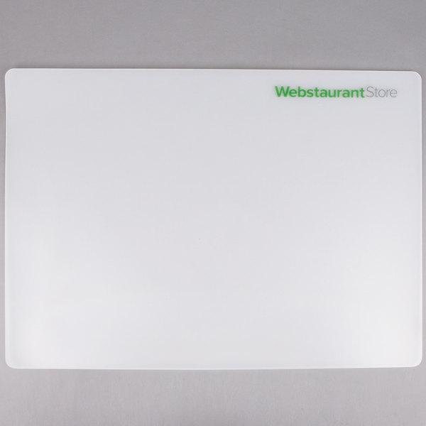 Choice 18 inch x 24 inch WebstaurantStore Logo Flexible Cutting Board  - 2/Pack