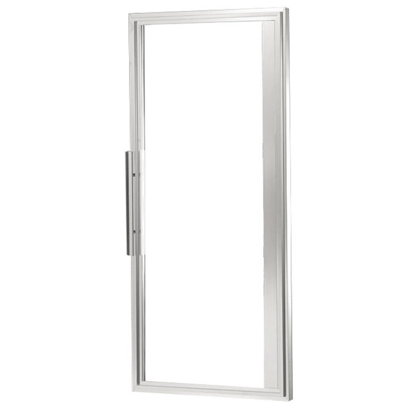 "True 933723 Right Hinged Glass Door Assembly with Stainless Steel Frame - 25 1/2"" x 54 1/4"""