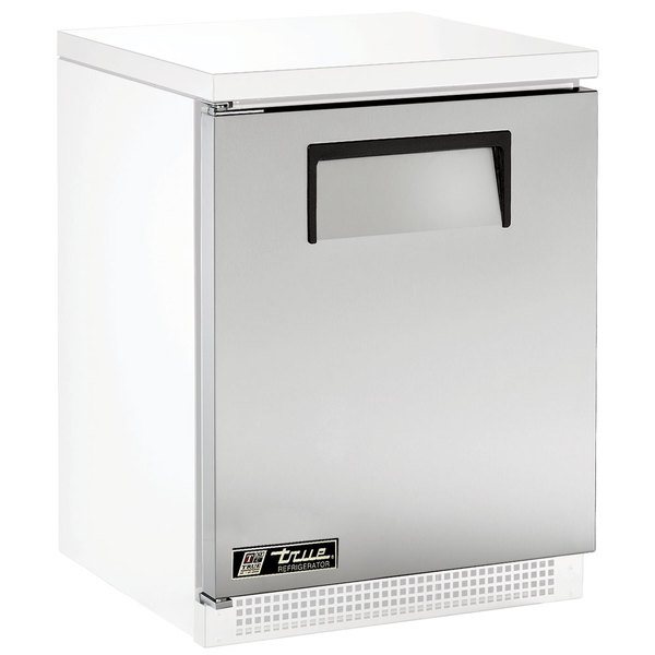 """True 925814 Stainless Steel Left Hinged Door Assembly with Recessed Handle - 23 7/8"""" x 26 13/16"""" Main Image 1"""