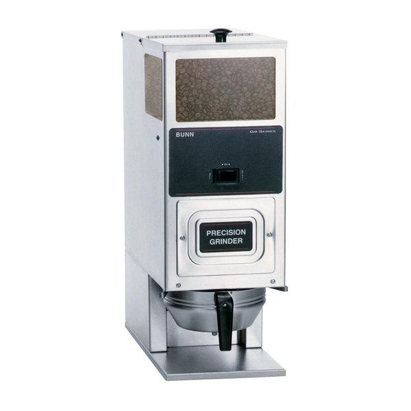 Bunn 05800.0027 BrewWISE G9T HD Single Hopper Portion Control Coffee Grinder - 120V