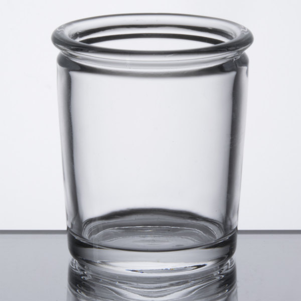 """Sterno Products 80266 2 1/2"""" Petite Clear Glass Votive Liquid Candle Holder"""