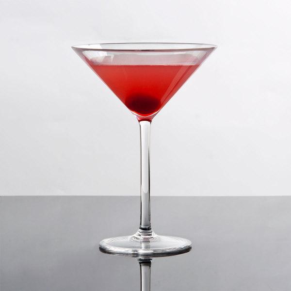 Thunder Group PLTHMT008C 8 oz. Plastic Martini Glass